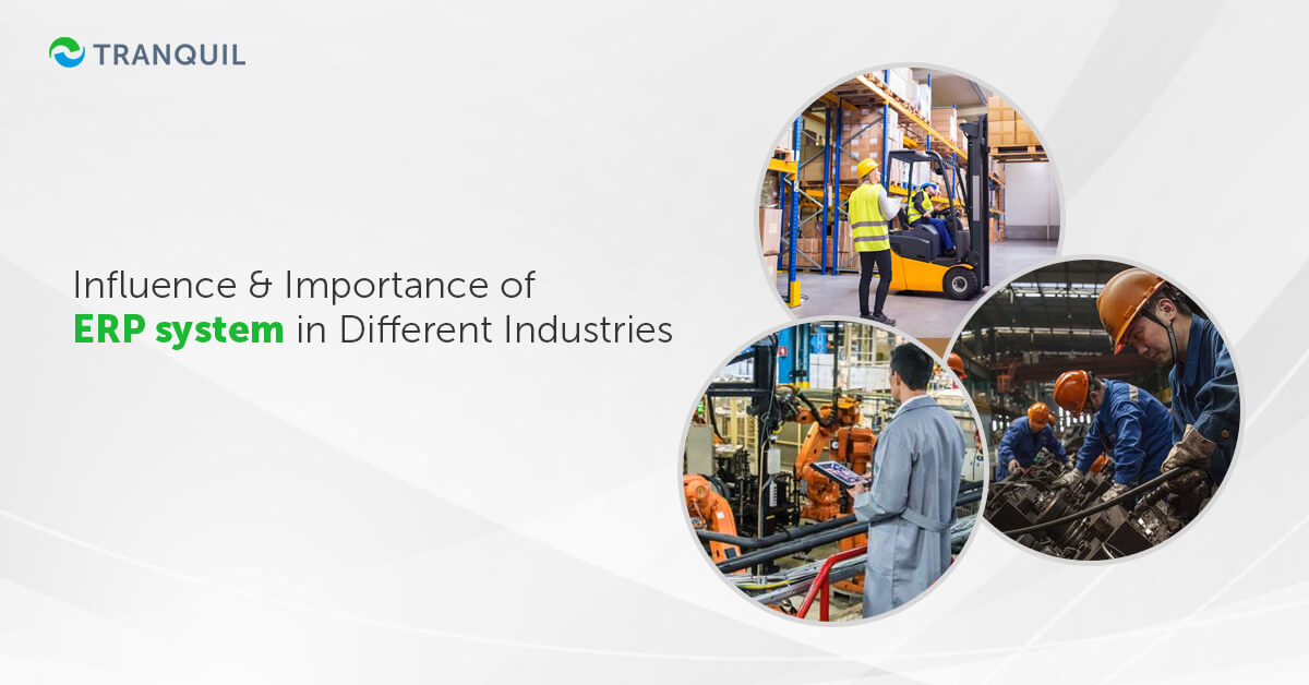 ERP system in Different Industries