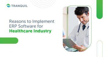 ERP Software For Healthcare Industry